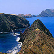 Spring At Anacapa Island, Channel Poster