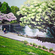 Spring At Snug Harbor Poster