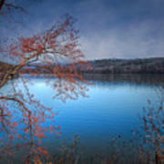 Spring At The Lake Poster