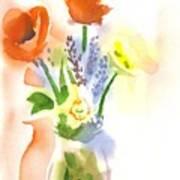Spring Bouquet II Poster by Kip DeVore