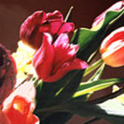 Spring Bouquet Poster by Steve Karol
