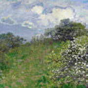 Spring Poster by Claude Monet