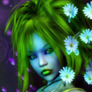 Spring Elf Poster