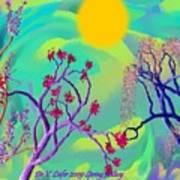 Spring Fantasy Poster
