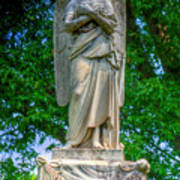 Spring Grove Angel Statue Poster