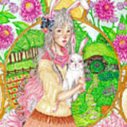 Spring Hare Poster