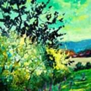 spring in Ciergnon Poster
