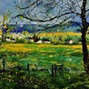 Spring In Herock Poster