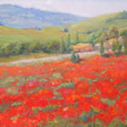 Spring In Tuscany Poster