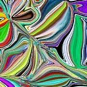 Spring Kaleidoscope Poster