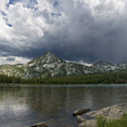 Spring Storm At Anthony Lake Poster