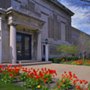 Spring Time At The Muskegon Museum Of Art Poster