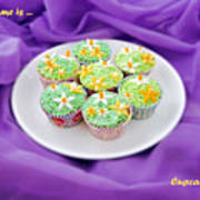 Spring Time Is Cupcake Time Poster