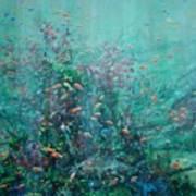 Spring Underwater   Poster
