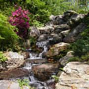 Spring Waterfall Poster