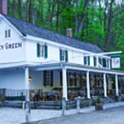 Springtime At The Valley Green Inn Poster