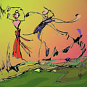 Springtime Dance Nine Poster