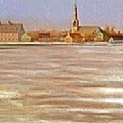 Springtime Lac St Louis Qc Poster