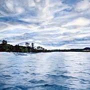 Squam Lake Poster