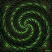 Square Crop Circles Two Poster