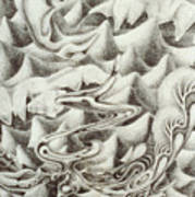 Squidmus Abstractus Poster by Sean Imler