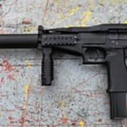 Sr-2mp Submachine Gun Poster