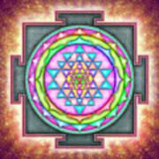 Sri Yantra - Artwork 7.3 Poster
