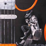 Srv - Stevie Ray Vaughn Poster