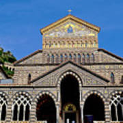 St Andrews Cathedral In Amalfi Poster