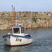 St Andrews Harbour Poster