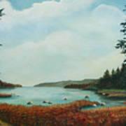 St Annes Bay Nova Scotia Poster