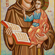 St. Anthony Of Padua - Jcapa Poster
