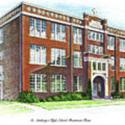 St. Anthony's High School Poster