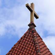 St. Augustine Cross 2 090118 Poster