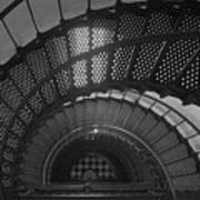 St. Augustine Lighthouse Spiral Staircase II Poster