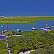 St. Augustine Panoramic Poster