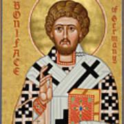 St. Boniface Of Germany - Jcbon Poster