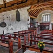 St Celynnin Church  Interior Poster