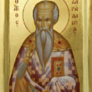 St Charalambos Poster by Julia Bridget Hayes