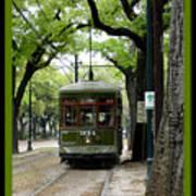 St. Charles Street Car Poster