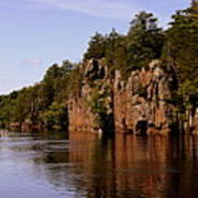 St Croix River View Poster