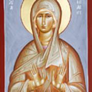 St Elizabeth Poster by Julia Bridget Hayes