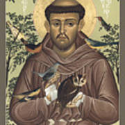 St. Francis Of Assisi - Rlfoa Poster