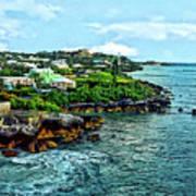 St. George Bermuda Shoreline Poster