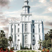 St George Temple - Tower of the Lord Poster