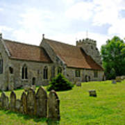 St George's Church At Arreton Poster