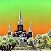 St. James Cathedral New Orleans Poster