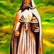 St Jeanne Jugan Of France Poster