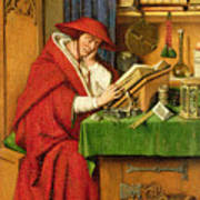 St. Jerome In His Study  Poster