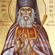 St John Of Shanghai And San Francisco Poster by Julia Bridget Hayes